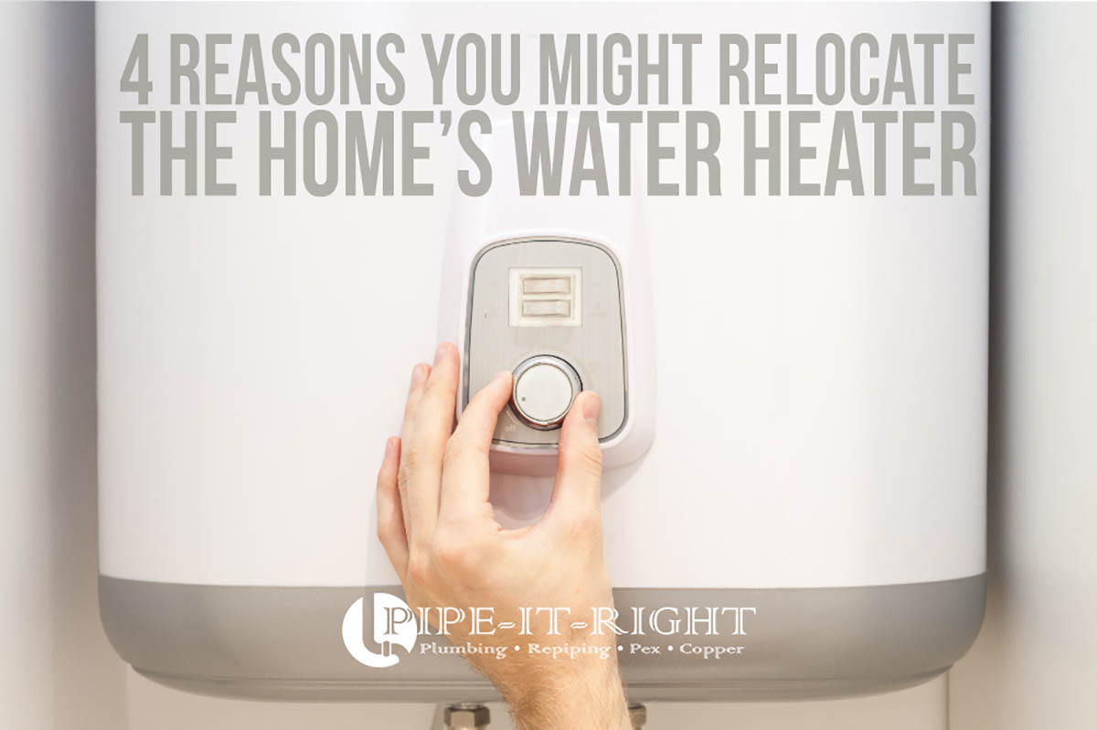 water heater relocation