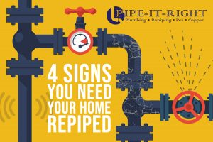 4 Signs Your Home Needs to be Repiped